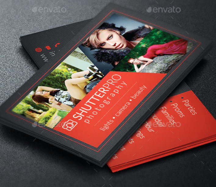 Photography Business Card Template3