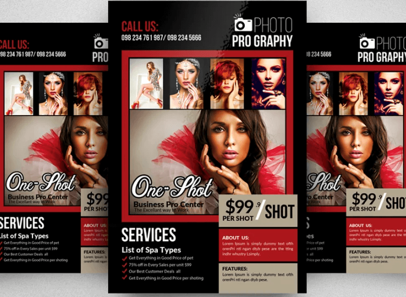 Photography Promotional Flyer