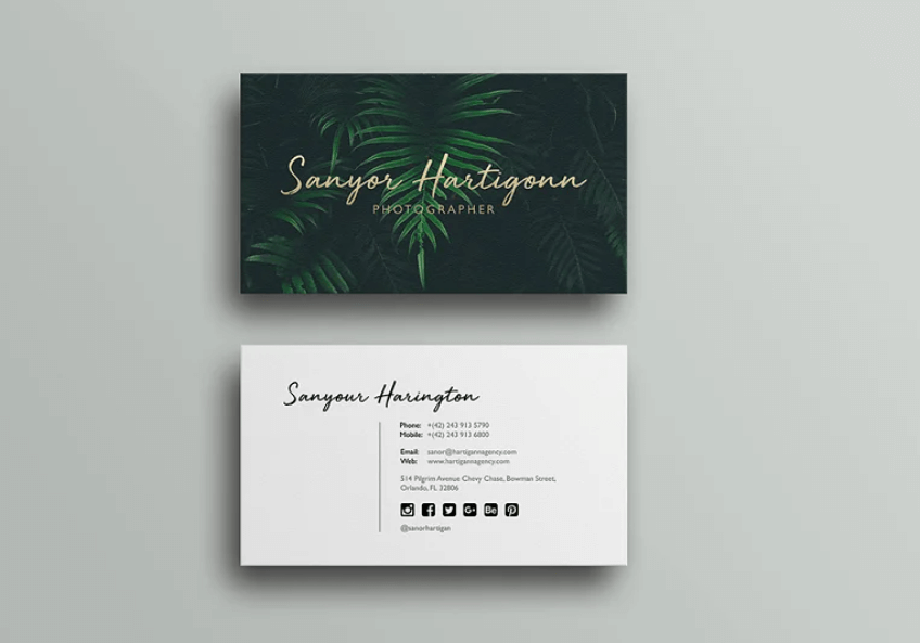 Photography business card6