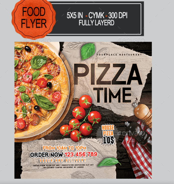 Pizza Flyer Template1