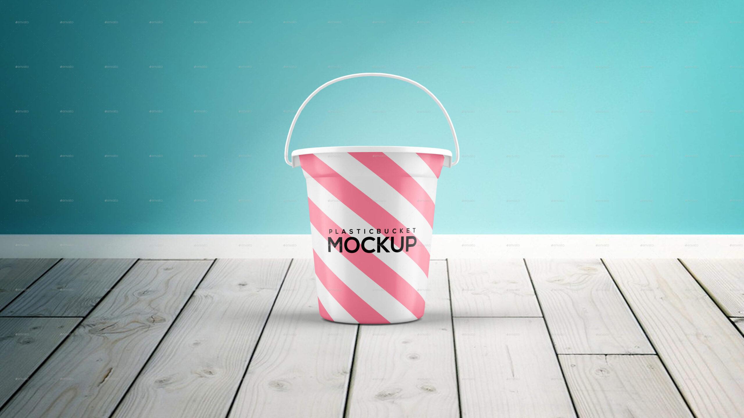 Plastic Bucket Mockup2 (1)