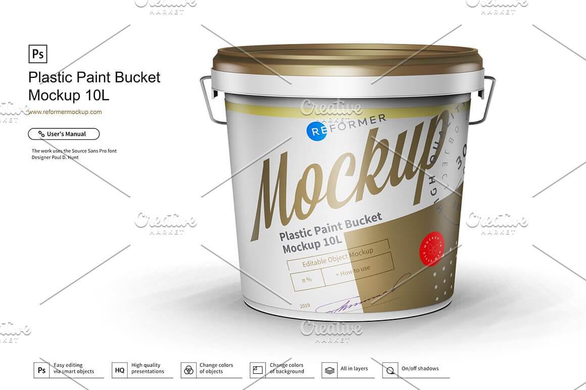 Plastic Paint Bucket Mockup 10L (1)