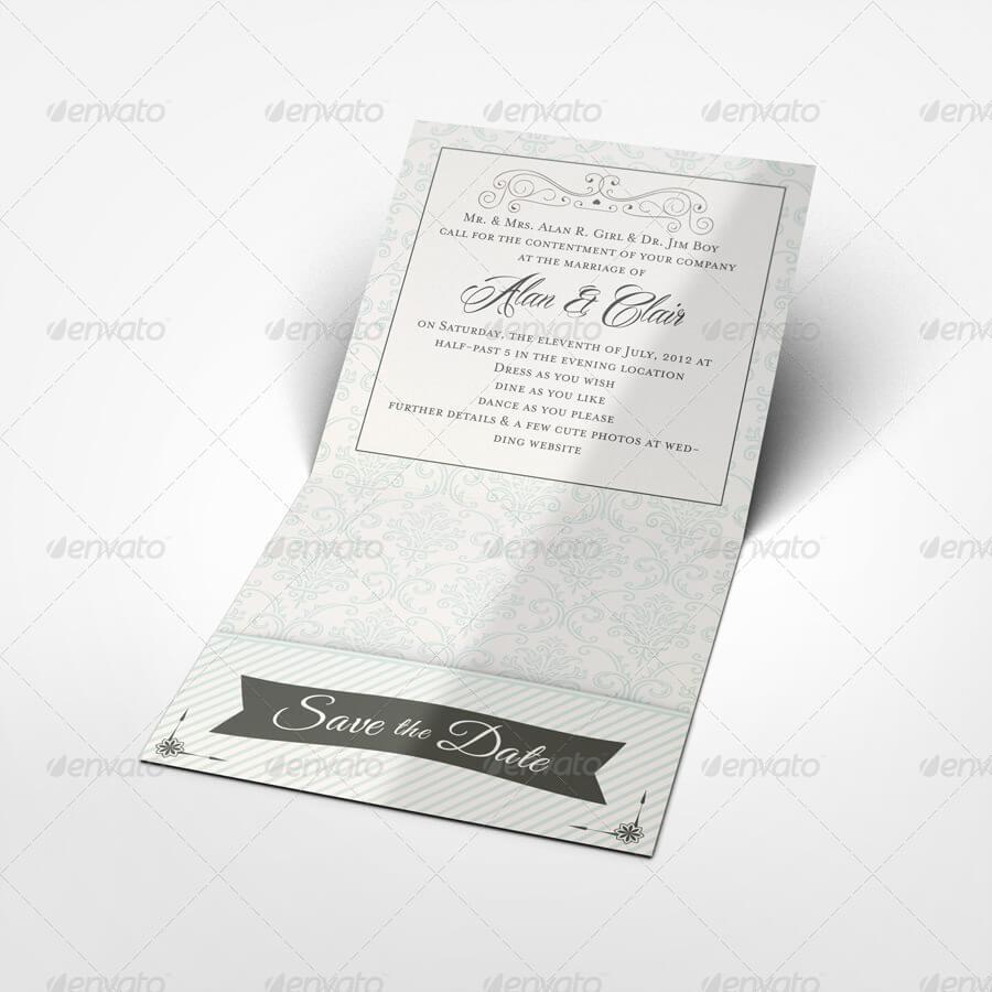 Pocket Wedding Invitation Mock-up (1)