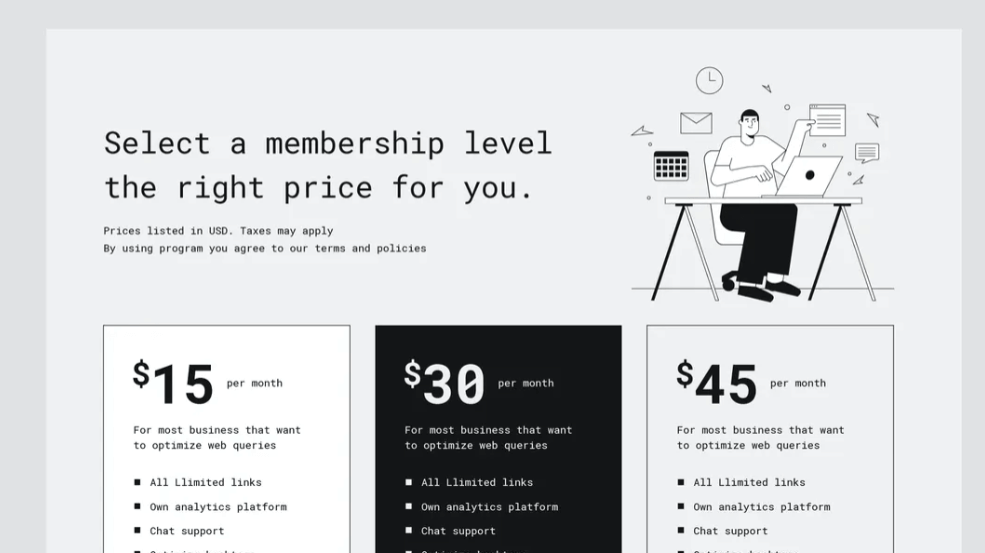 Pricing Table5