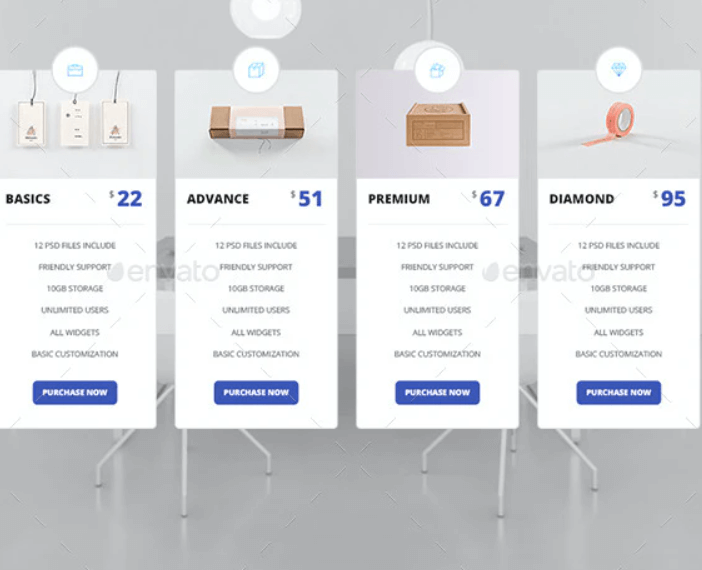 Pricing Tables Template