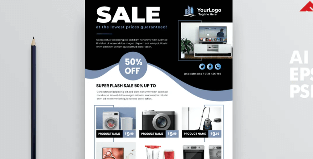 Product Promotion Flyer2