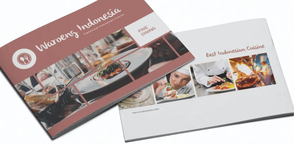 Restaurant Menu Bifold Brochure (1)