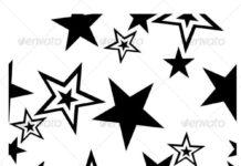 Seamless star ornament in color 39 (1)