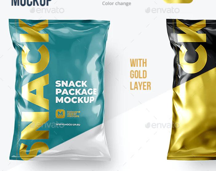 Snack Package Mockup1