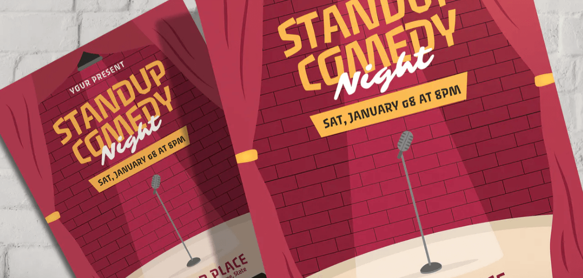 Stand Up Comedy - Flyer Template