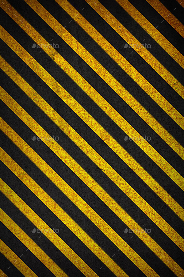 Textured Backgrounds with Black and yellow Angled Lines (1)
