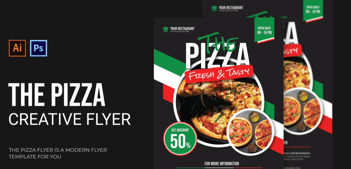 The Pizza - Flyer