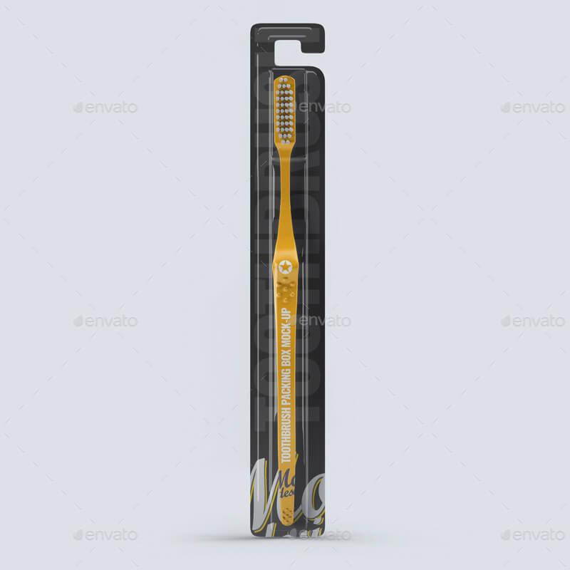 Toothbrush Packing Box Mock-up (1)