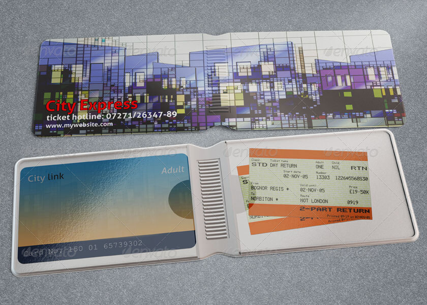 Travel Card Wallet Mock-up (1)