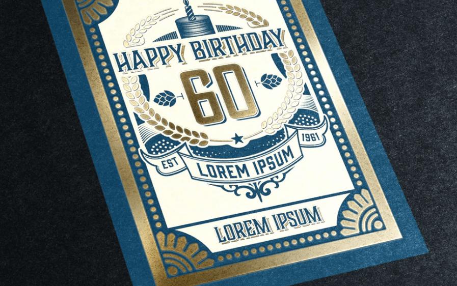 Vintage Happy Birthday Card1