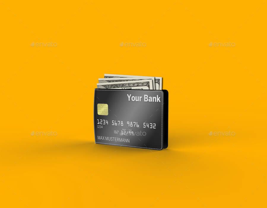 Wallet Credit Card Mockup Templates (1)