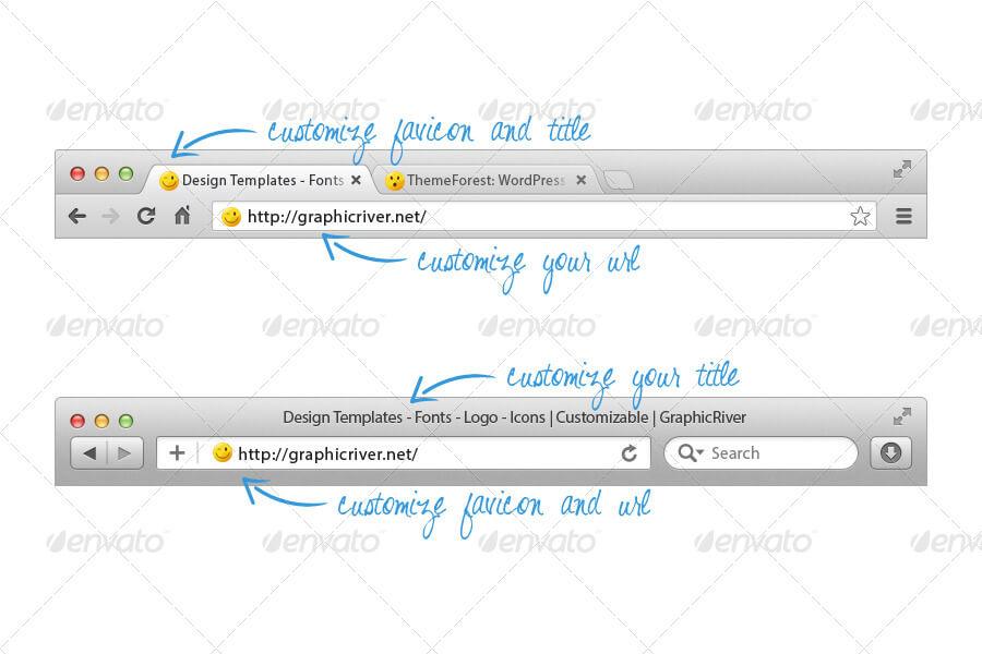 Web Browser Templates Mockup (1)