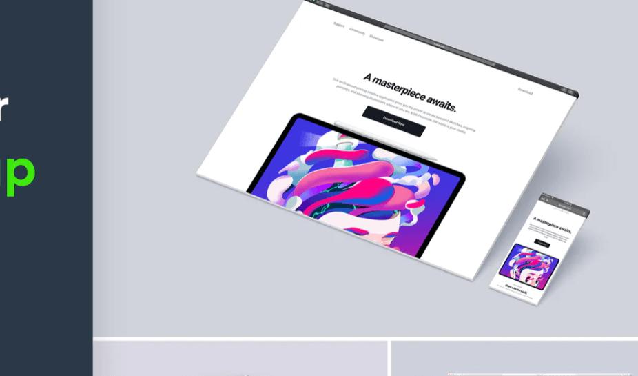 Website Browser Mockup 3.0