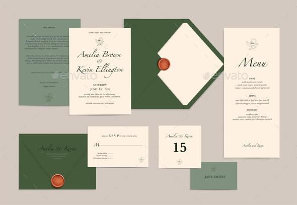 Wedding Invitation Card Mockup (1)
