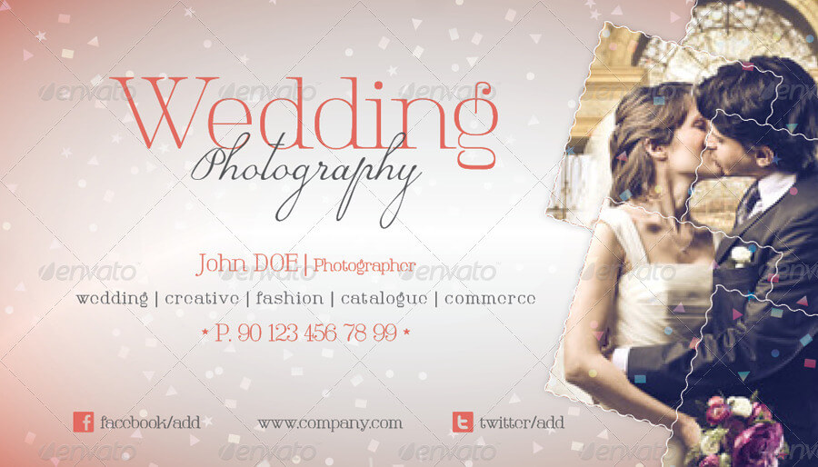 Wedding Photography Business Card Template (1)