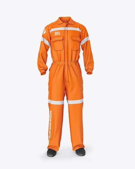 Worker Uniform Mockup – Front View (1)