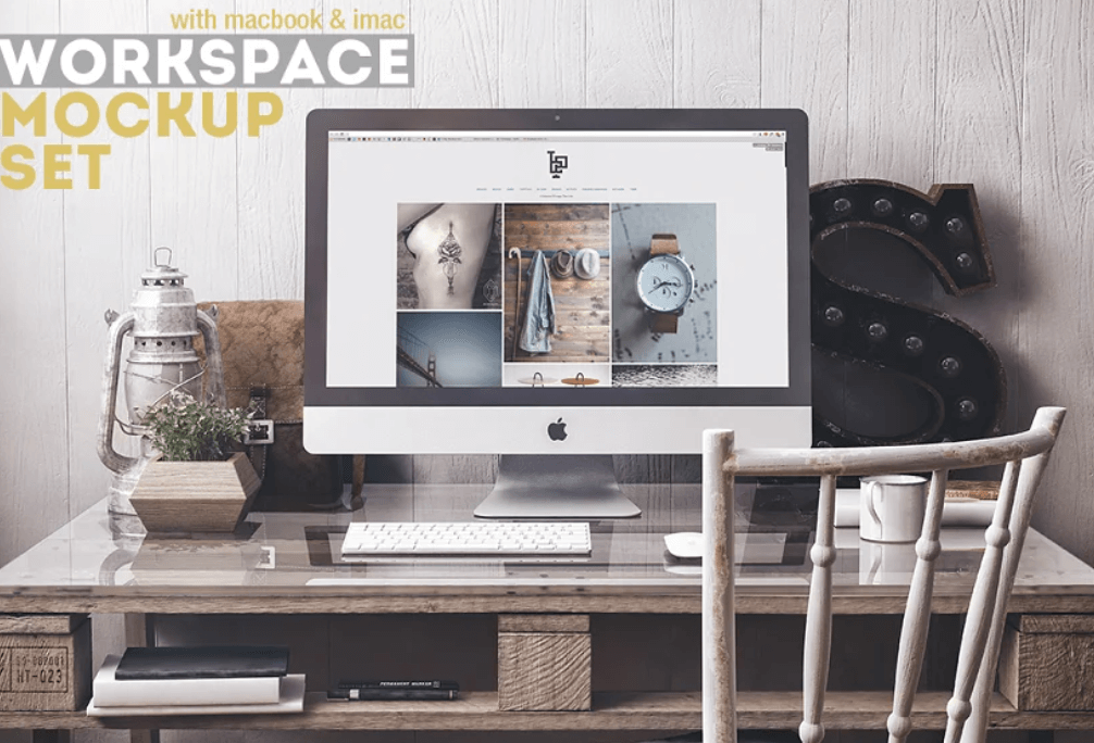 Workspace Mockup Set 3