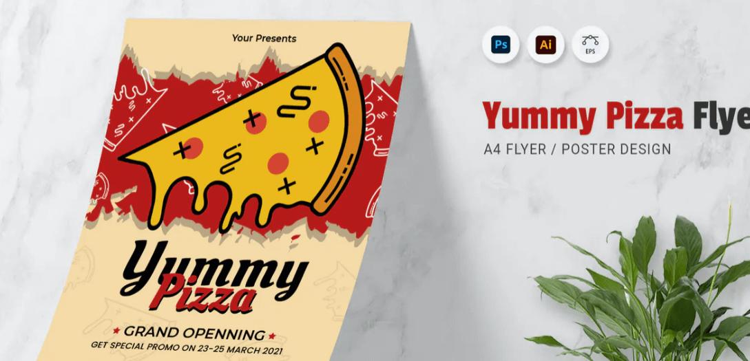 Yummy Pizza Flyer