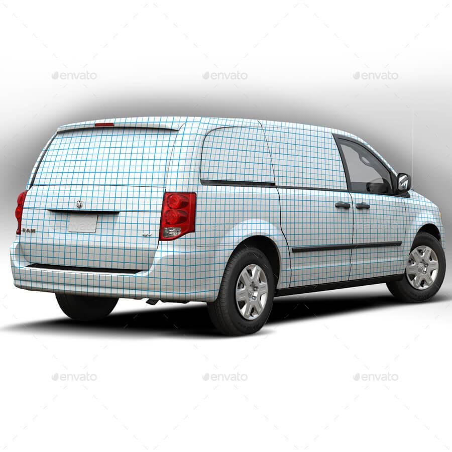 2014 Dodge Caravan Wrap Mockup (1)
