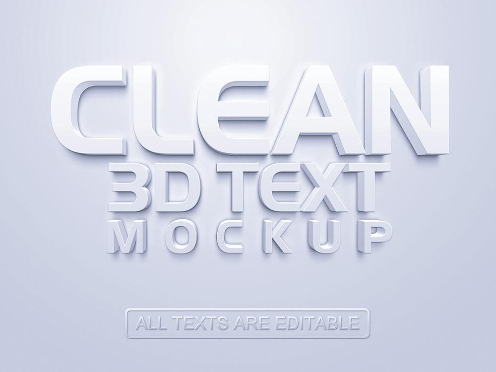 3D Text Mockup (1)