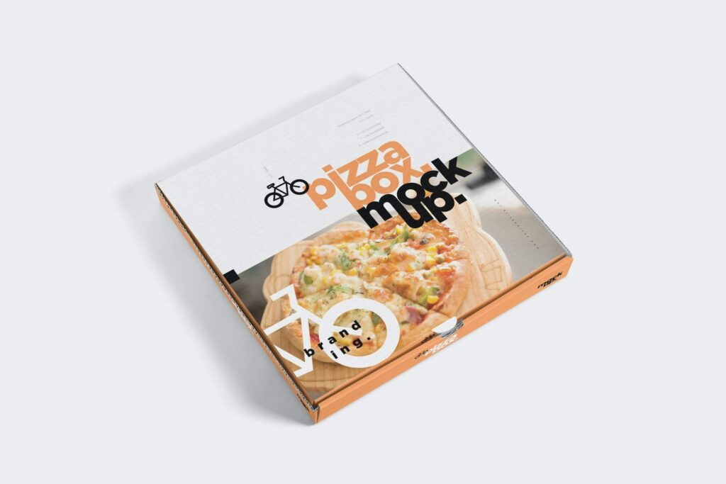 5 Pizza Box Mockups (1)