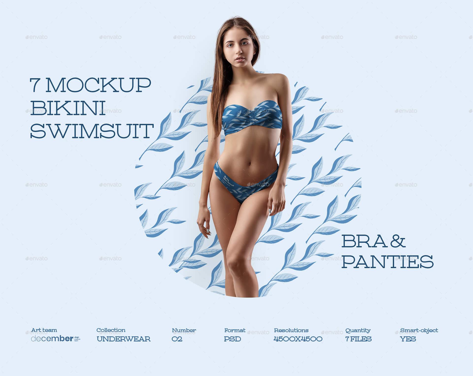 7 Mockups Bikini Swimsuit (1)