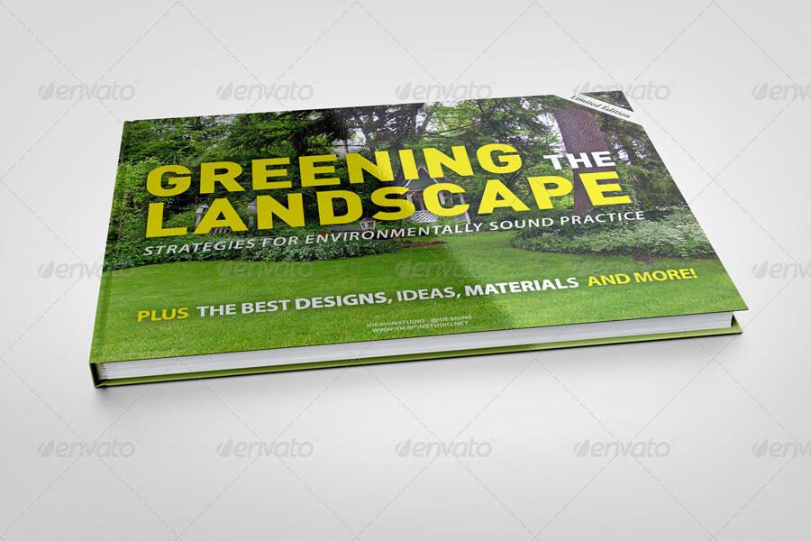 A4 Landscape Book Mock-Up (1)
