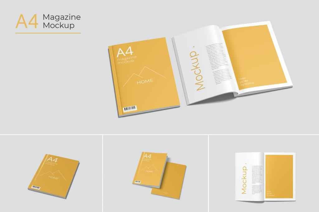 A4 Magazine Mockup1 (2)