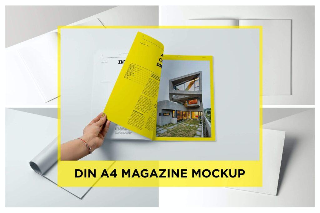 A4 Magazine Mockup4 (1)