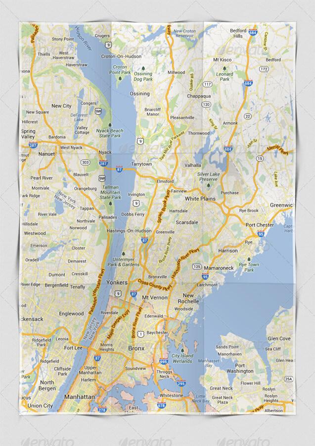 A4 Maps & Poster Folded Mockup (1)