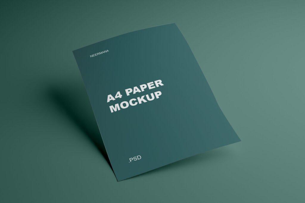A4 Paper Mockup V.1 (1)