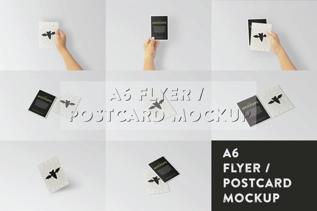 A6 Flyer Postcard Mock-Up (1)