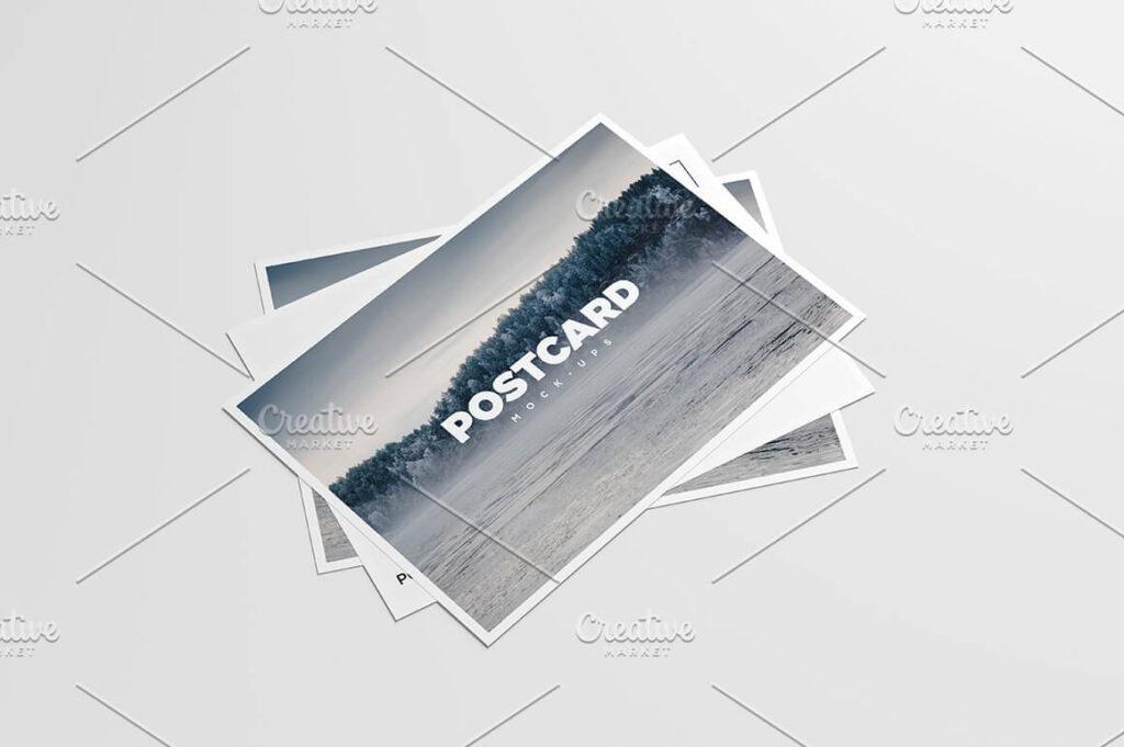 A6 Flyer Postcard Mock-Up (2)