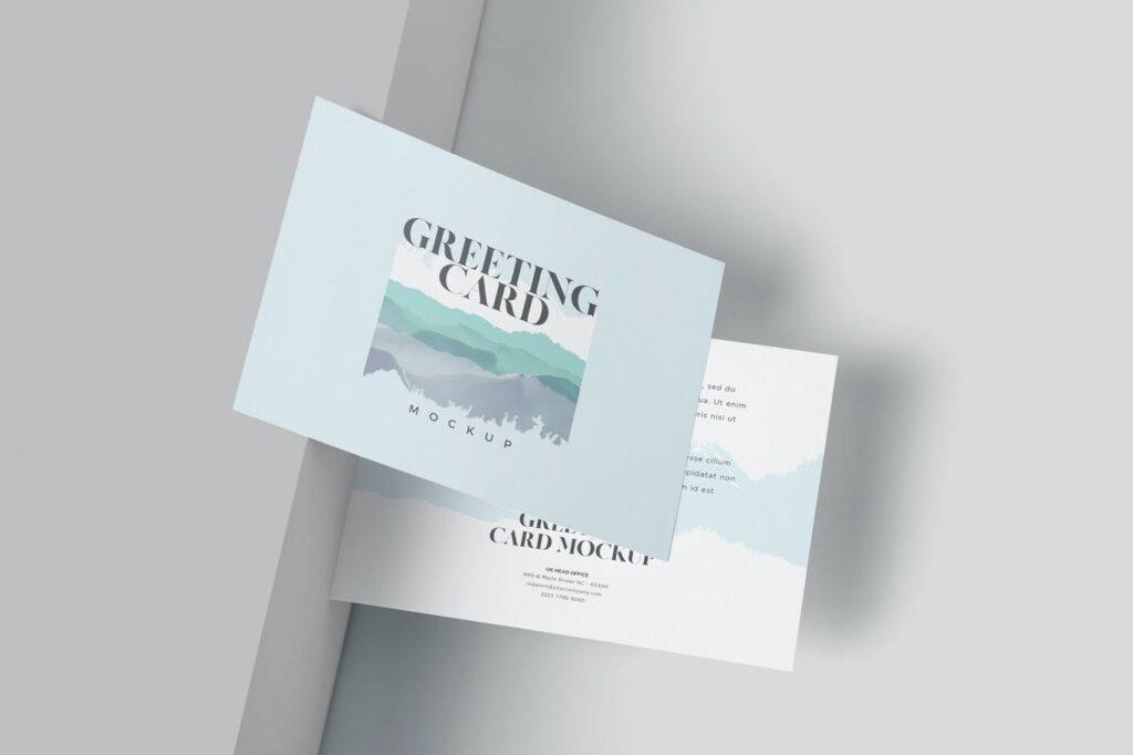 A6 Greeting Card Mockup Templates (1)