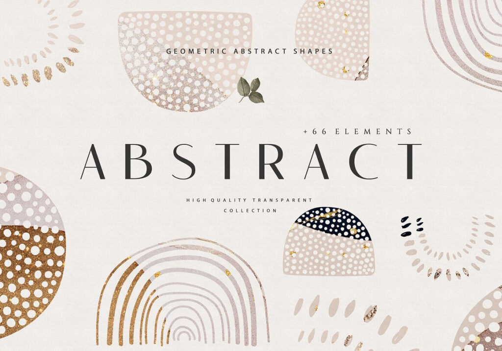 Abstract Geometric Shapes (1)