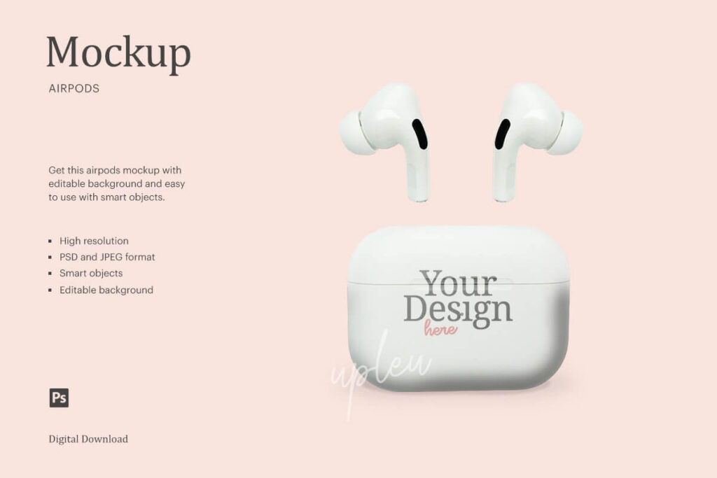 AirPods Pro Case Mock Up (1)