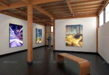 Art Gallery Interior Mockups (1)