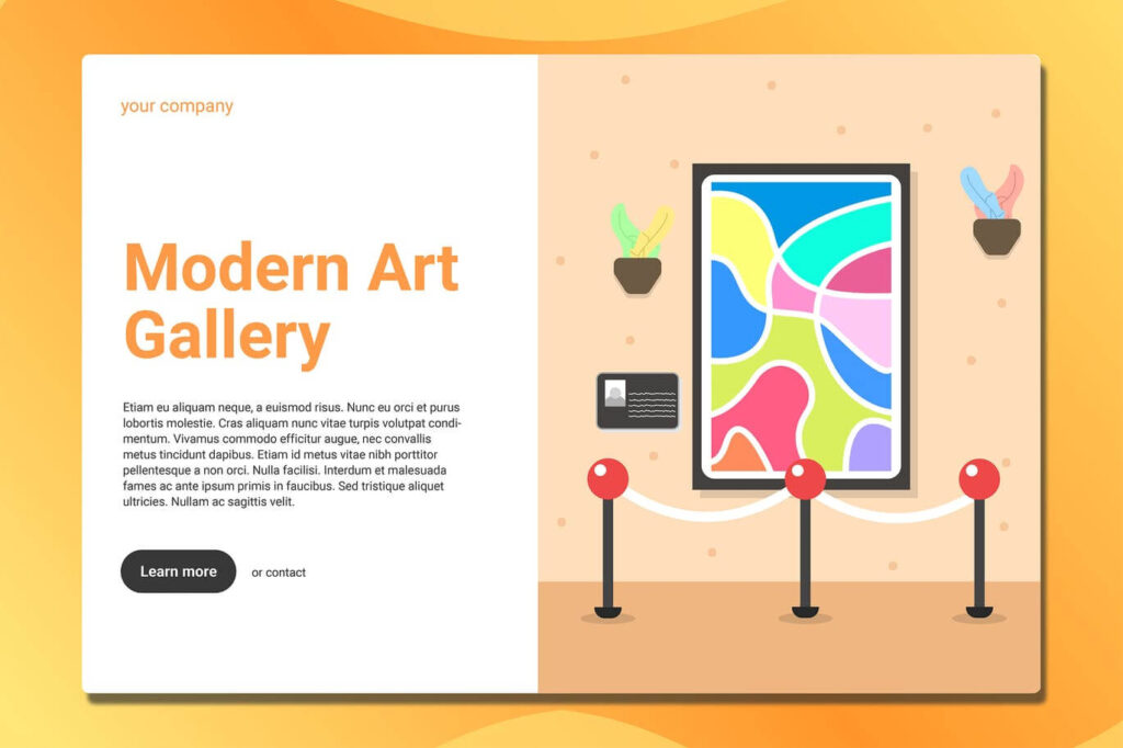 Art Gallery - Landing Page (1)