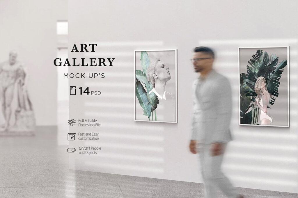 Art Gallery MockUp Poster (1)