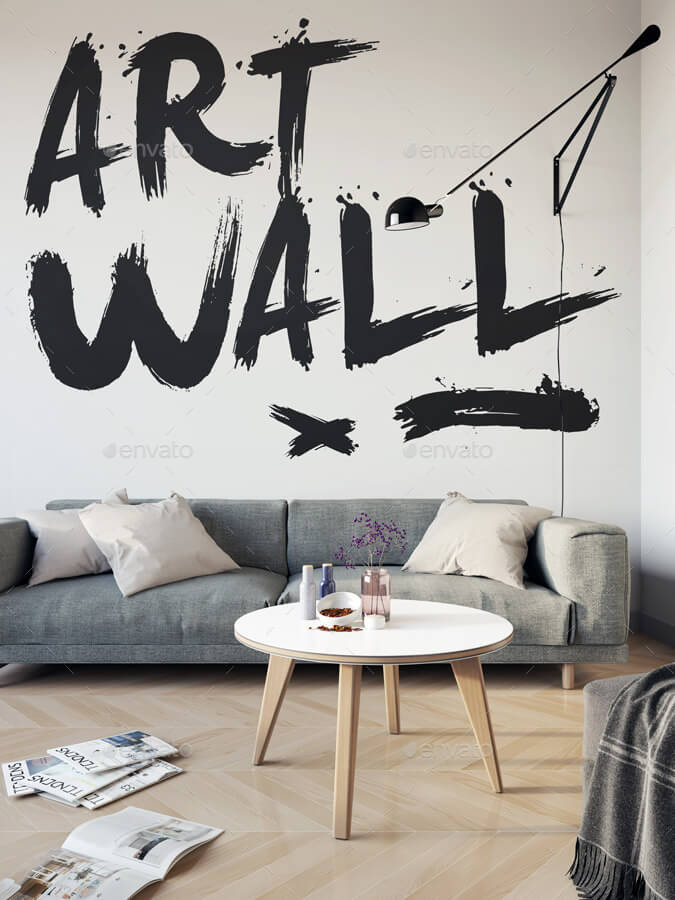 Art Wall and Poster Mock-up (1)
