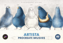 Artista Procreate Brushes (1)