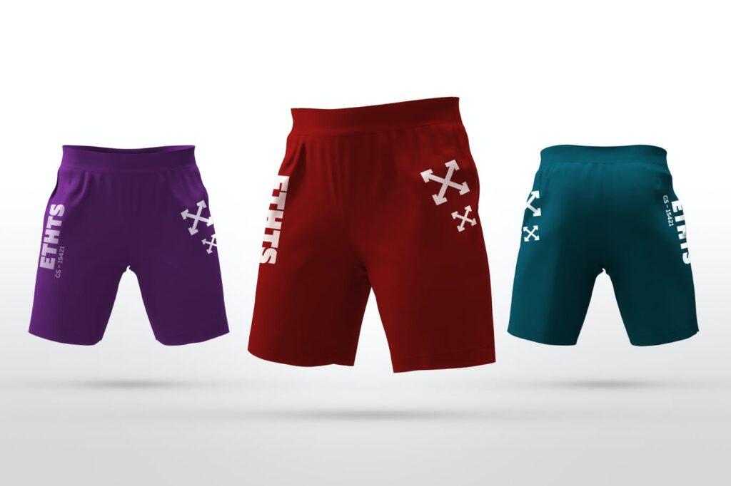 Athletic Shorts Mockups (1)