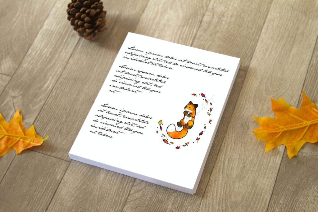 Autumn Paper Letter Mock Up (1)