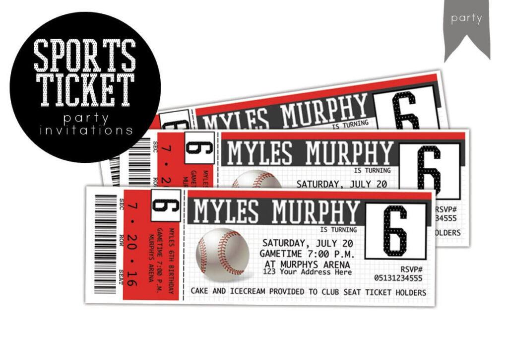 BIRTHDAY sports ticket invitation (1)
