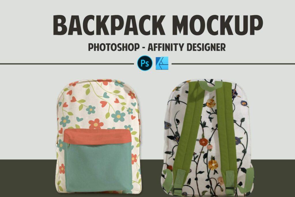 Backpack Mockup (1)